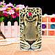 Чехол накладка для Nokia Lumia 630 / 635 с картинкой Кот в очках, фото 6