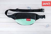 Сумка для путешествий, поясная сумка, PUNCH, Black Mint, бананка, компактная сумка, сумка туриста
