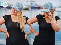 Бейсболка женская джинсовая ат 3718 гл
