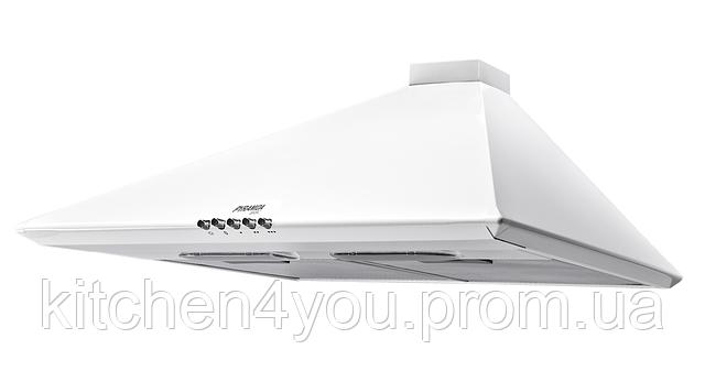 Basic Casa 60 white (600 мм.) купольная кухонная вытяжка, без декоративного кожуха, белая эмаль