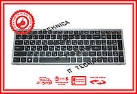 Клавиатура Lenovo IdeaPad Z500 черно-серая