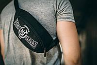 Сумка для Ультрас, сумка для футбольных выездов, поясная сумка, PUNCH, бананка, компактная сумка