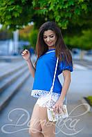 Легкая блуза Аннет для девушек