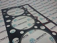Прокладка плиты ГБЦ 7W7546 (метелическая) на двигатель Shanghai Diesel C6121