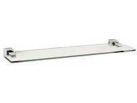 Полка для ванной комнаты KUGU С5 503 (латунь, хром, стекло)(Бесплатная доставка Новой почтой)