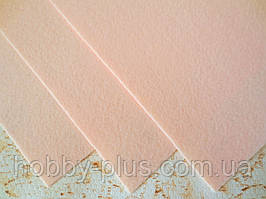 Фетр корейский жесткий 1.2 мм, 20x30 см, ТЕЛЕСНЫЙ
