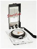 Компас складной жидкостный планшетный для карт Max Fuchs  34213