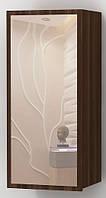 Шкаф навесной Альфа с зеркалом