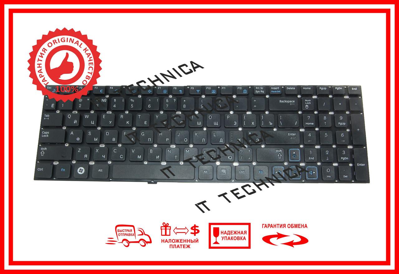 Клавіатура Samsung RC520 RV509 чорна без рамки