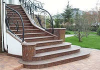 Гранітні сходи фото 3