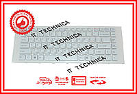 Клавиатура Sony Vaio VPC-EA Series белая с белой рамкой RU/US