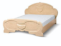 Кровать 2-сп Эмилия перламутр (Світ Меблів TM)
