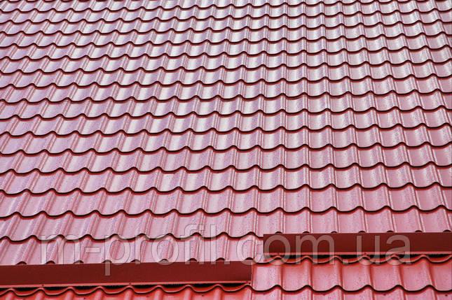 "Металлочерепица ""Монтерей"" глянец, толщина 0,45, фото 2"