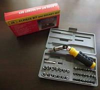 Набор инструментов 40 ед +реверсивная отвертка