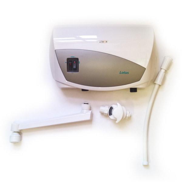 Проточный водонагреватель ATMOR LOTUS 5 кВт Кран