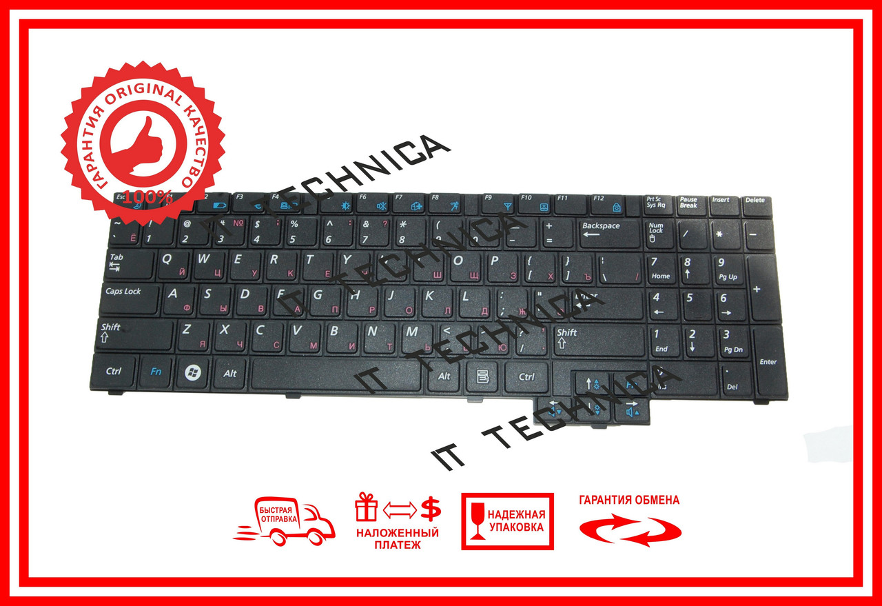 Клавіатура SAMSUNG NP-R519-JS01UA NP-R519-XS01UA NP-R523-DS02UA NP-R523-DS03UA RUUS