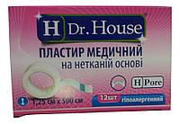 Лейкопластырь Dr.House катушка не тканевая основа 1,25*500 см