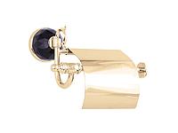 Держатель для туалетной бумаги KUGU Diamond 1111G (латунь, золото)(Бесплатная доставка Новой почтой)