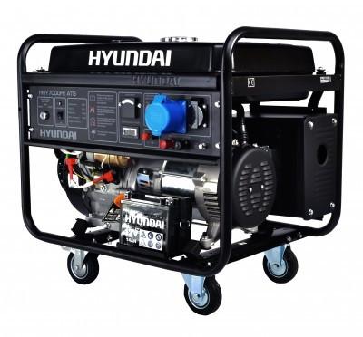 бензогенератор 6 квт hyundai hhy9000fe