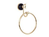 Полотенцедержатель кольцо KUGU Diamond 1104G (латунь, золото)(Бесплатная доставка Новой почтой)