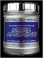 Аминокислоты Mega Arginine (140 caps) Scitec Nutrition
