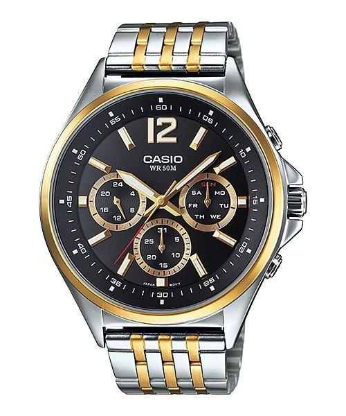 Мужские часы Casio MTP-E303SG-1A