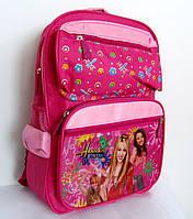 """Рюкзак школьный для девочки, розовый, """"ханна монтана"""", Хмельницкий"""