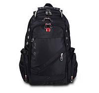 Фирменный рюкзак SwissGear модель 1418 с отсеком для ноутбука + подарки!
