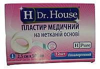 Лейкопластырь Dr.House катушка не тканевая основа 2,5*500 см