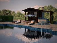 Трёхмерная визуализация бассейна