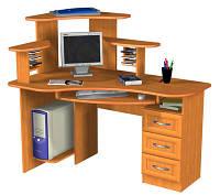 Угловой компьютерный стол на заказ