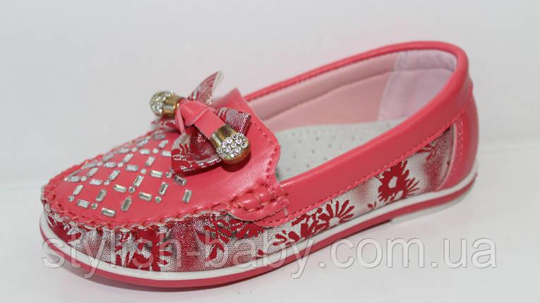 Детские туфли оптом. Детские мокасины бренда Y.TOP для девочек (рр. с 26 по 31), фото 2