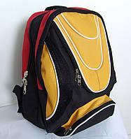 Рюкзак, черный+желтый с красным, Хмельницкий