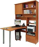 Компьютерный стол-стенка на заказ