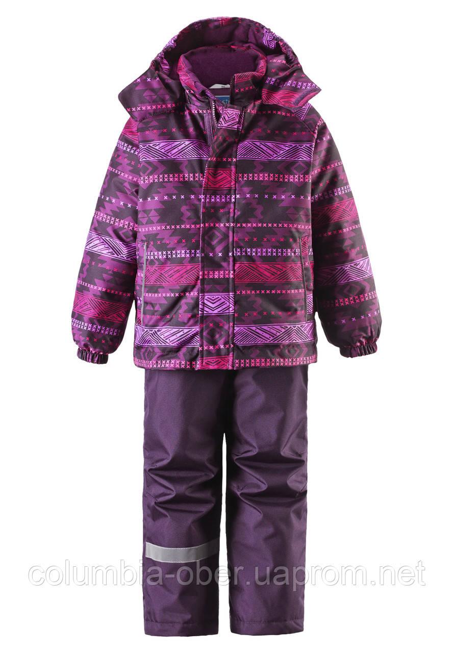 Зимний костюм для девочки Lassie by Reima 723693A - 4981. Размер 128.