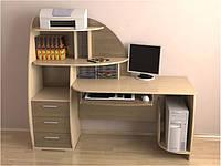 Компьютерный стол с полками на заказ