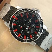 Мужские наручные часы Ulysse Nardin Silver/Black/Red