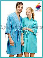 Домашний халат унисекс под заказ (от 50 шт.)