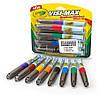 Маркеры Crayola сухостираемые Visi-Max для досок, мольбертов, флипчартов, 8 цветов, Crayola (Крайола)