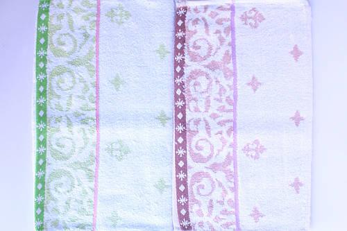Махровое кухонное полотенце 37х80 отличное качество