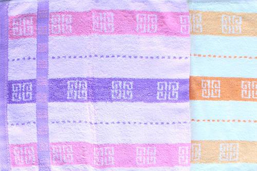 Махровое кухонное полотенце 35х75
