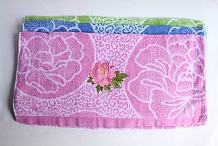 Полотенце банное махровое «Роза» отличное качество