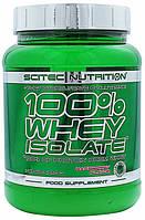 Изолят сывороточного протеина 100% Whey Protein Isolate (700 g) от Scitec nutrition (USA)