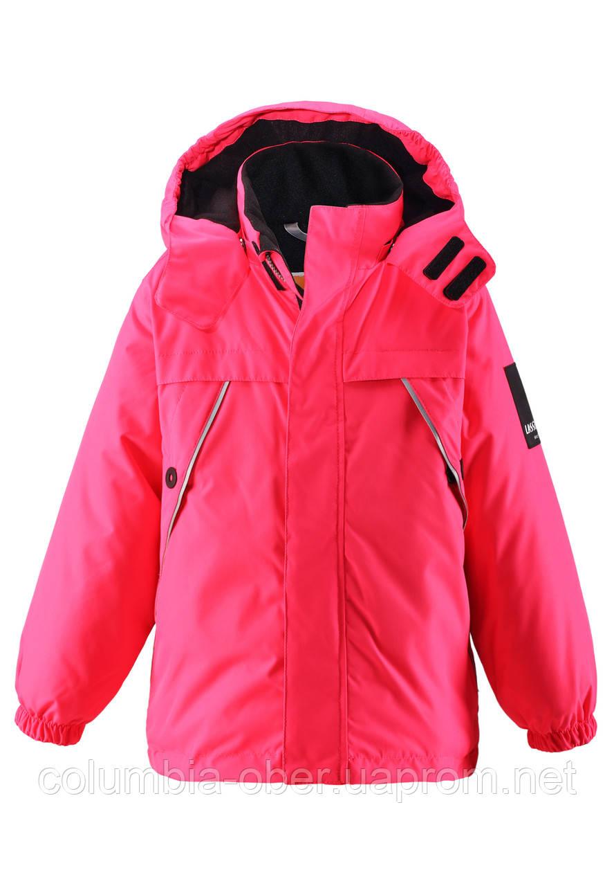 Зимняя куртка для девочек LassieTec by Reima 721690 - 3380. Размеры 104 - 128.