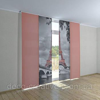 Японские шторы Эйфелева башня