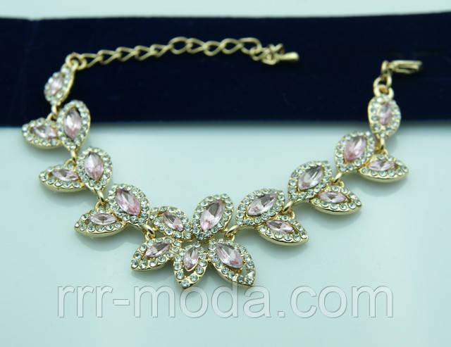браслет розовая Нежность от бижутерии RRR.