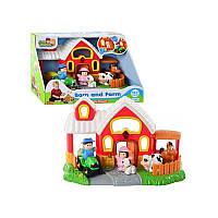 Развивающий игровой набор Hap-P-Kid «Ферма с животными»