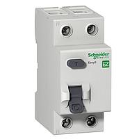 Дифференциальный выключатель нагрузки Schneider Electric Easy9, 25A, 2P, 10 mA