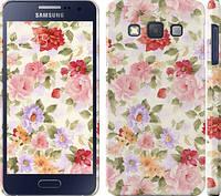 """Чехол на Samsung Galaxy A3 A300H Цветочные обои """"820m-72"""""""