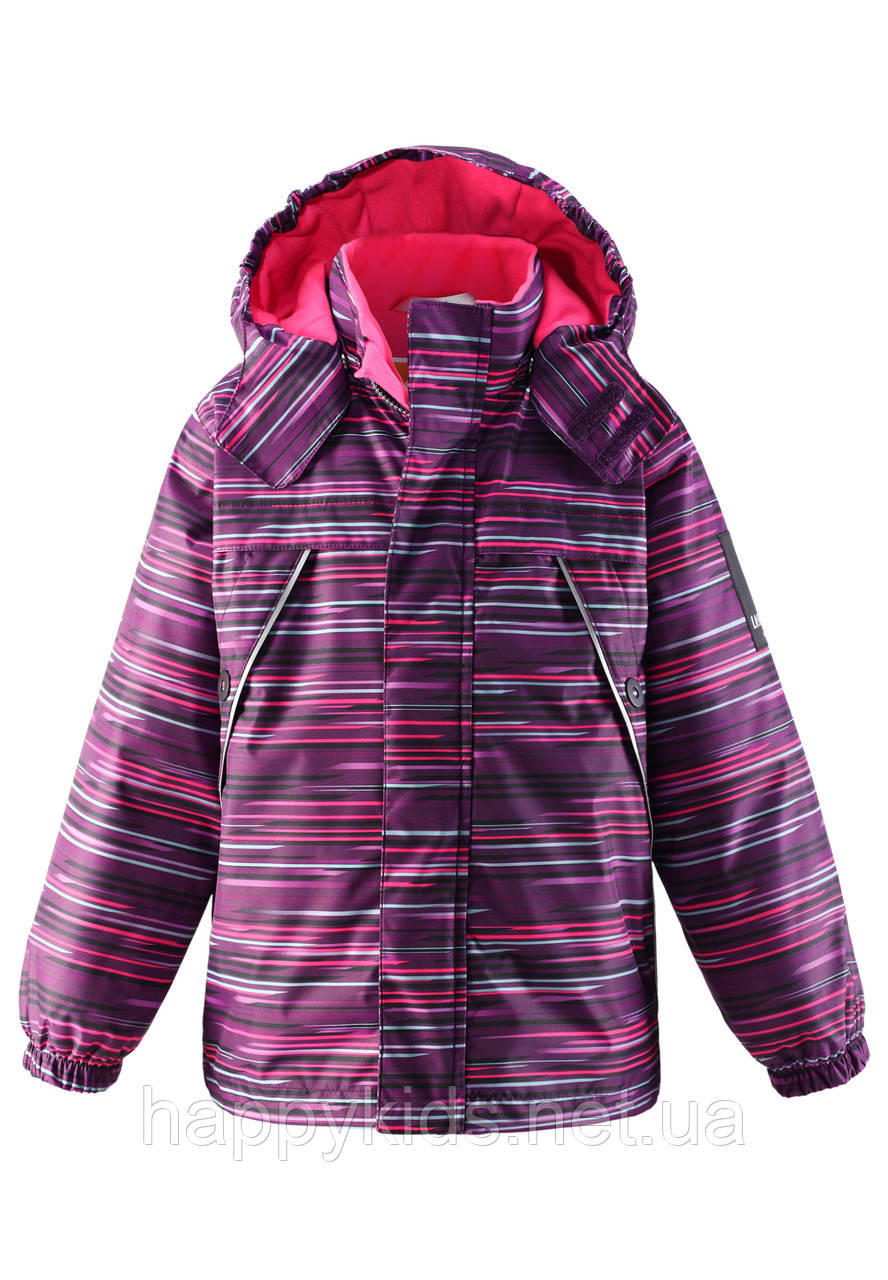 Зимняя куртка для девочек LassieTec by Reima 721690 - 4981. Размеры 104 - 140.
